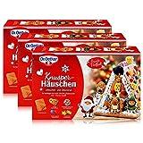 Dr.Oetker-Knusper-Häuschen Lebkuchenhaus Advent Weihnachten 403g (3er Pack)