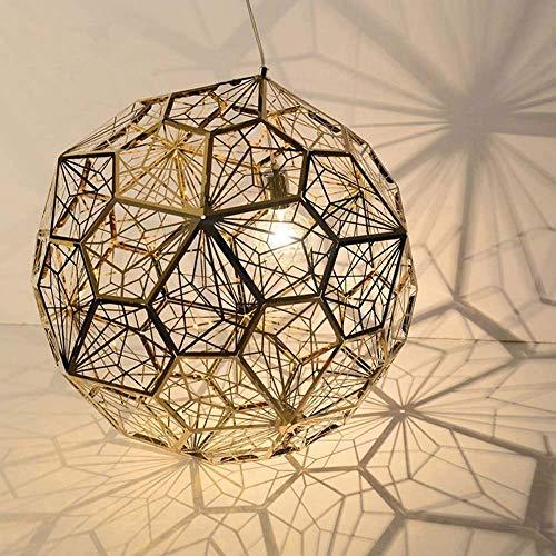 HLL Candelabros Luces de techo , Bola de diamante de acero