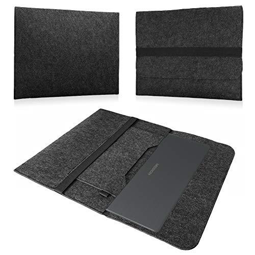 NAUC Notebook Sleeve Hülle Medion Akoya E7424 E7420 Tasche Ultrabook Filz Cover Case