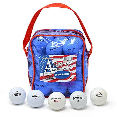 Second Chance Balles de Golf Unisexe Bleu 36