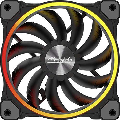 Alpenföhn Wing Boost 3 ARGB 140x140x25 Gehäuselüfter, schwarz, Einzellüfter