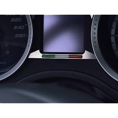 Interieur Stahlabdeckung Für Alfa Romeo 159 Brera Spider 939 1 Stück Italienisches Flaggenemblem Dekor Auto