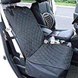 Rocktric Waterproof Dog Car Seat Covers Upgraded Front Car Seat Cover for Dogs