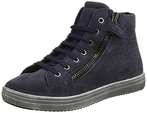 Lepi Mädchen 3973LEQ Hohe Sneaker, Blau (BLU), 32 EU