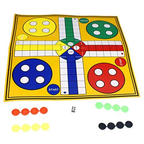 TOYANDONA Vliegend Schaak Tapijt Papier Vlucht Schaak Speelgoed Familie Spel Speelgoed Partij Bordspel Speelgoed Voor Thuisfeest
