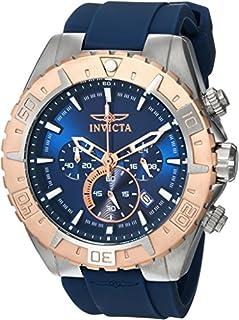 Invicta Men's Aviator Stainless Steel Quartz Watch with...