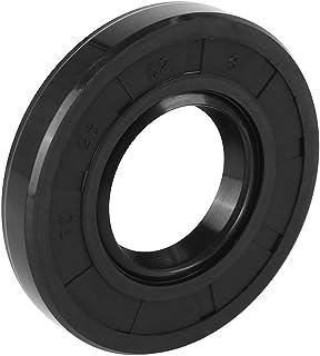 X AUTOHAUX 25mm X 52mm X 10mm Rubber Double Lip TC Oil Shaft Seal for Car