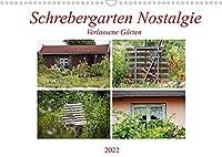 Schrebergarten Nostalgie (Wandkalender 2022 DIN A3 quer): Verlassene Gartenkolonie (Monatskalender, 14 Seiten )