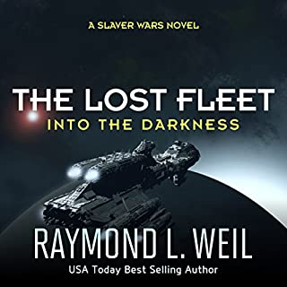 The Lost Fleet: Into the Darkness audiobook cover art
