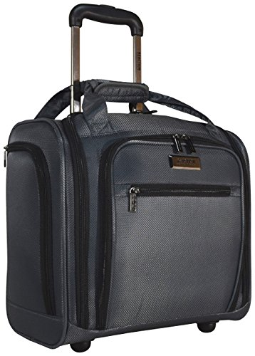 Kenneth Cole Reaction Excursion Wheeled Underseat Carry On Bag (Charcoal)