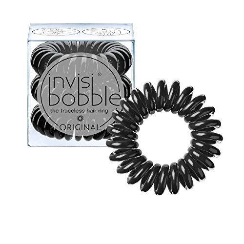 Invisibobble Original Haargummis, Schwarz, 3 Stück