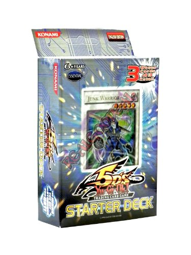 YuGiOh 5D's 2008 English Unlimited 'Junk Warrior' Starter Deck [Toy] by Yu-Gi-Oh!
