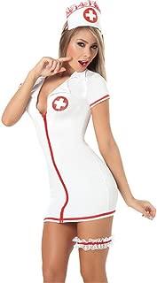 Women's Sexy Lingerie Nightwear Underwear Sets Babydoll Sleepwear Cosplay Nurse Costume