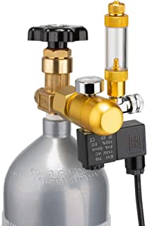 DaToo Aquarium CO2 Regulator with Bubble Counter Solenoid Check Valve Adjustable for Standard US Planted Tank CO2