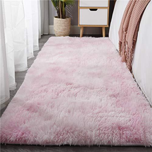 MENEFBS Alfombra de estilo moderno diseño negro gris carbón Alfombras salón tamaño extra grande suave tacto corto pelo alfombra alfombra alfombra alfombra no derramamiento 120* 200 cm