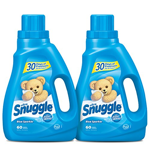 Snuggle Liquid Fabric Softener with Fresh Release, Blue Sparkle, 50...
