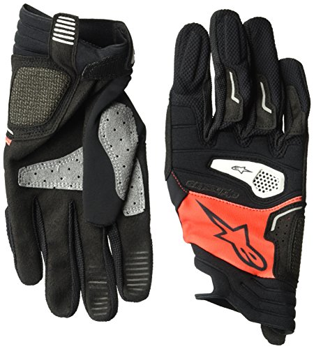 Alpinestars, Drop Pro, handschoenen, 2018: rood/zwart, maat XL