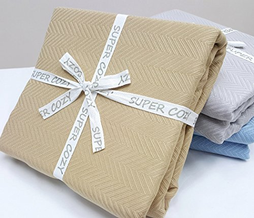 Super Cozy 100% Bamboo Fiber Blanket. Ultra...