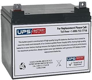 12V 35Ah NB - UPSBatteryCenter SLA Compatible Battery for MK MU-1 SLD M