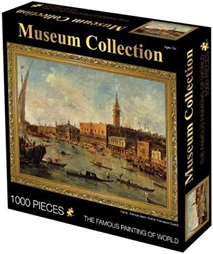 Casual moeilijkheidsgraad,puzzel van 1000 stukjes Wereldberoemd olieverfschilderij DIY Creativiteit Houten speelgoed voor volwassenen Feest Abstract schilderen Uitdaging Educatieve spellen