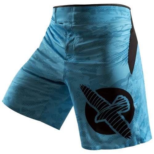 Hayabusa Weld3 Fight Shorts, 34, Blue
