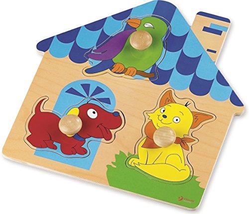 Monde Classique Jouets cl2069 Maison Puzzle Enfant