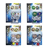 Beyblade Burst B9491EU63 Superset 4X Twin Pack = 8 trottole, Multicolore...