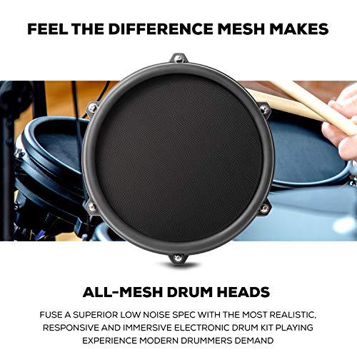 Alesis Drums Nitro Mesh Kit - Eight Piece All Mesh Electronic Drum Kit With...