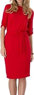 Mujer Elástico Lápiz Vestido Bodycon Mini Vestido Oficina De Negocios Elegante Vestido