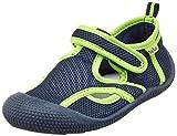 Playshoes Jungen Unisex Kinder UV-Schutz Sandale Aqua Schuhe, Blau (Marine/Grün 787), 26/27 EU