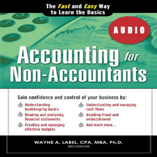 Accounting for Non-Accountants, 3E audiobook cover art