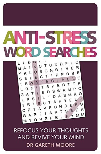 Anti-Stress Word Searches: Refocus Your Thoughts and Revive Your Mind (Anti-Stress Puzzles)