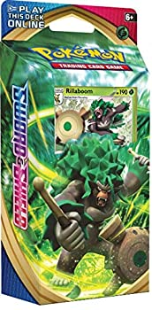Pokemon TCG  Sword & Shield Theme Deck Featuring Rillaboom