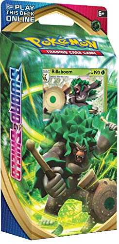 Pokemon TCG: Sword & Shield Theme Deck Featuring Rillaboom