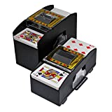 Best Card Shufflers - NEREIDS NET Playing Card Shuffler (2-Deck), Bridge Game Review