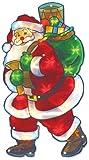The Benross Christmas Workshop Nikolaus-Silhouette, LED-beleuchtet, Metallic-Silhouette