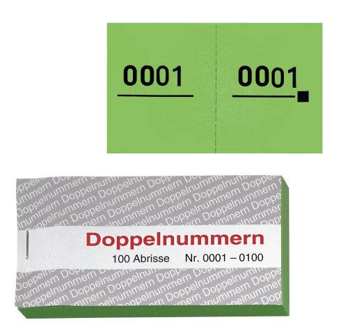 WOLF & APPENZELLER 750058 Doppelnummern grün 01-500