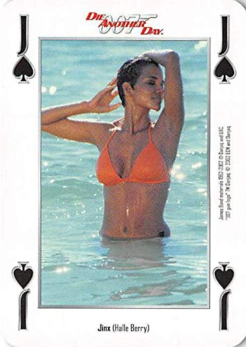 Halle Berry Bikini trading card gaming Jinx 007 James Bond Die Another Day #JS