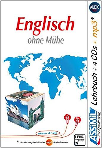 ASSiMiL Englisch ohne Mühe - Audio-Plus-Sprachkurs - Niveau A1-B2: Selbstlernkurs in deutscher Sprache, Lehrbuch + 4 Audio-CDs + 1 MP3-CD
