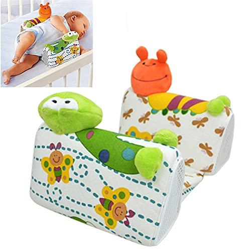 almohada plagiocefalia,cojin mimos,cojin infantil,suave,El más nuevo bebé lindo bebé recién nacido almohada antivuelco posicionador para dormir previene la forma del cojín de cabeza plana