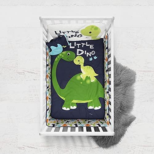Chiqui Mundo Set de edredón para Cuna (6 Piezas) Edredón, Sábanas,...