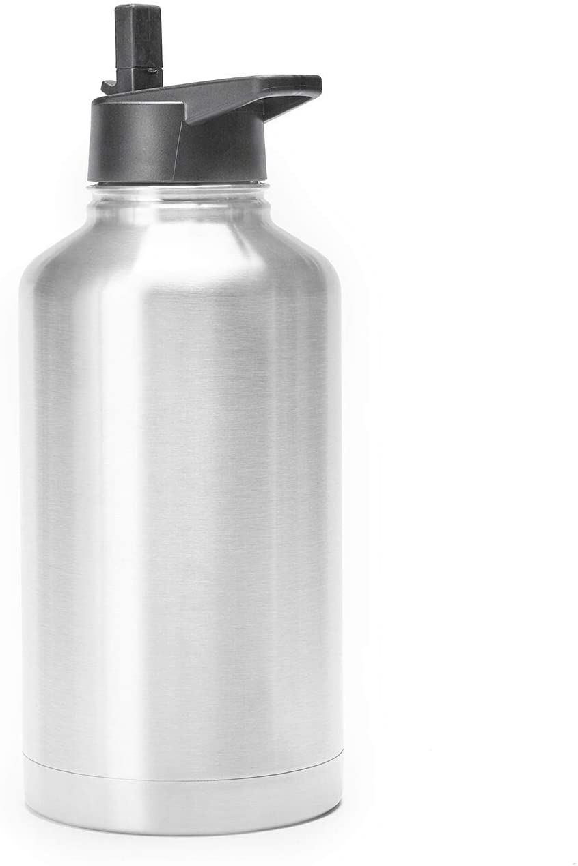 The Max 80% OFF Lobo 64 SALENEW very popular OZ Straw Capacity Insulated Mega Bottle LeakSpillPr