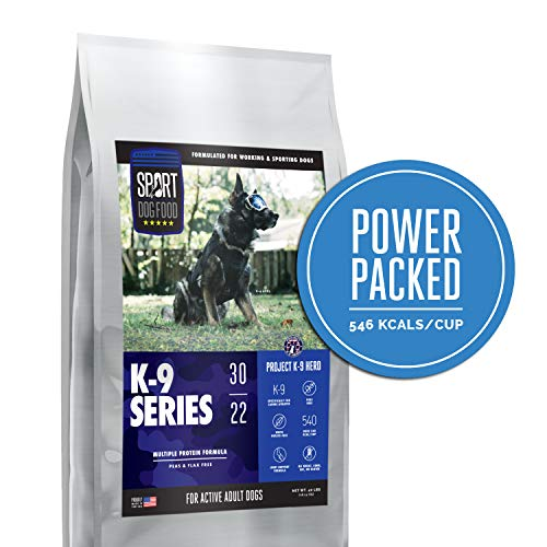 K-9 Series Project K-9 Multi Protein Endurance Formula, Peas and Flax Free Dry Dog Food, 40 lb. bag