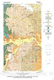 Map : Geology of Midcities Area, Tarrant, Dallas, and Denton Counties, Texas [with engineering properties of the Woodbine, Eagle Ford, and Quaternary], 1976 Cartography Wall Art : 16in x 24in