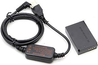 باتری شارژر همراه باتری USB 8.4V ACK-E12 + DR-E12 DC سوپاپ LP-E12 باتری قابل استفاده برای Canon EOS M M2 M10 M50 M100