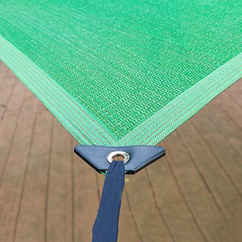 WXQIANG Plantas de Cubierta/Toldo Straight Edge Sombra toldo, persiana rectángulo al Aire Libre del paño por Pergola/Patio/Jardín/Windows, el 85% de protección Solar Protección Solar, aislamie