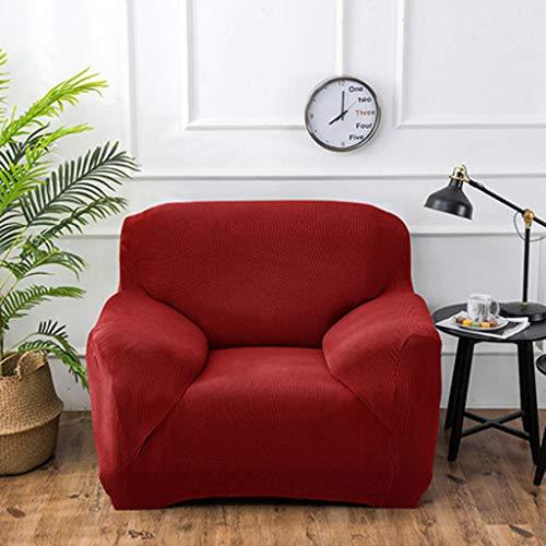 LLKK Funda de sofá Gruesa,Funda de sofá Individual pequeña,Juego Universal Universal Todo Incluido,1 Pieza