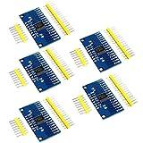 DollaTek 5Pcs CD74HC4067 CMOS 16 canaux 16 CH Module de dérivation analogique numérique multiplexeur pour Arduino