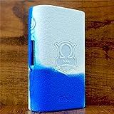 ModShield for Eleaf iStick Power 80W TC Silicone Case ByJojo iPower Shield Cover Skin Wrap (Blue/White)