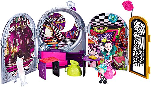 Ever After High Way Too Wonderland High and Raven Queen Playset by Ever After High